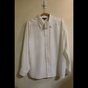 New with tags Topshop white button up shirt